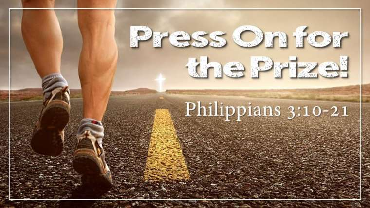Press On for the Prize Sermon from our Building a Joyful Church Sermon Series. Philippians 3:10-21