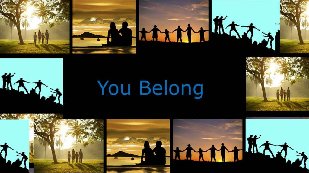 "You Belong from the ""Love the Family of Believers"" sermon series, 1 Peter 2:17"