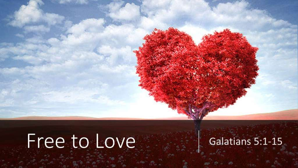 """Free to Love"" from the Jesus Means Freedom sermon series, Galatians 5:1-15"